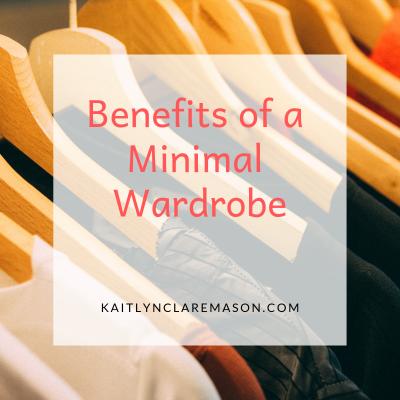 benefits of a minimal wardrobe